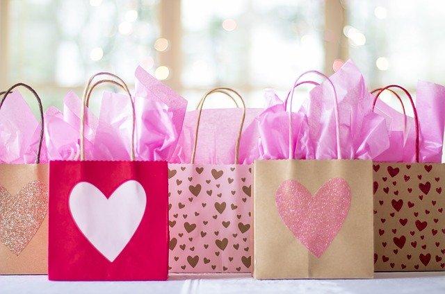 可愛いミニ紙バッグ